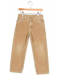 Oscar de la Renta Boys Corduroy Flat Front Pants