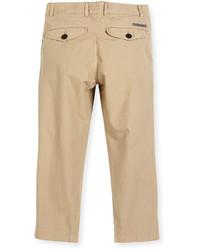 Burberry Bryan Twill Straight Leg Pants Size 4 14