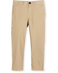 Burberry Bryan Twill Straight Leg Pants Size 4 14