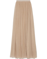 Tulle maxi skirt beige medium 835337