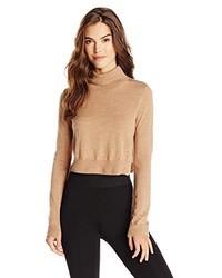 BCBGMAXAZRIA Natassia Knit Sweater Crop Top