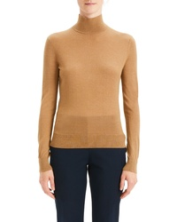 Theory Foundation Mock Neck Sweater