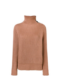 Bottega Veneta Ribbed Turtle Neck Jumper