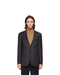 Ermenegildo Zegna Tan Cashmere And Silk Turtleneck