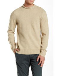 Jack Spade Wool Blend Brewster Roll Neck Sweater