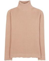 Valentino Wool Blend Turtleneck Sweater