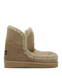 Mou Beige 18 Ankle Boots