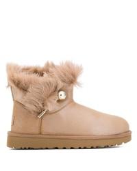 UGG Australia Fur Detail Boots