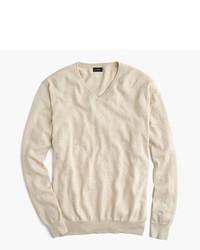 J.Crew Cotton Cashmere V Neck Sweater