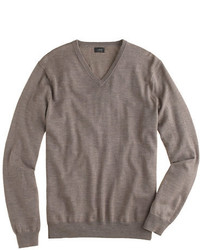 Merino wool v neck sweater medium 333769