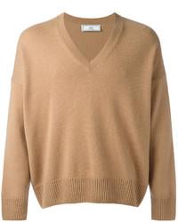 Oversized v neck sweater medium 3742876