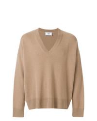 a54ce6bf5382 AMI Alexandre Mattiussi Oversized V Neck Sweater