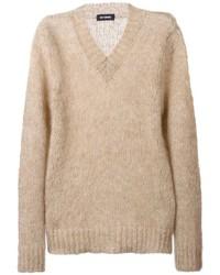 Raf Simons V Neck Sweater