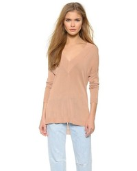Rag bone yvette v neck sweater medium 177989