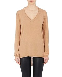 Skin Skin Superfine Wool Blend Pointelle Sweater