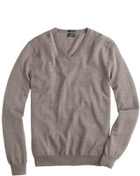 J.Crew Slim Merino Wool V Neck Sweater