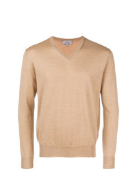 Canali V Neck Sweater