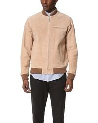 Tan Varsity Jacket