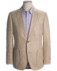 Modelcurrentbrandname kroon textured stripe sport coat silk medium 25651