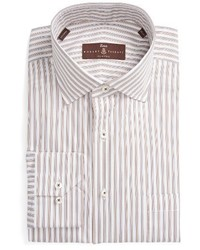 Robert Talbott Estate Classic Fit Stripe Dress Shirt