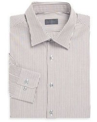 Pal Zileri Striped Cotton Dress Shirt