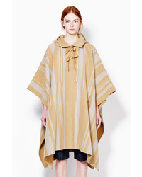 3.1 Phillip Lim Poncho With Embroidered Rings Strap Closure