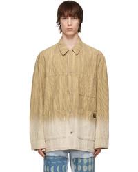 Loewe Beige Paulas Ibiza Bleached Jacket