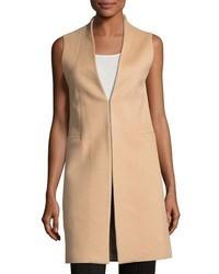 Alice + Olivia Flynn Seamed Wool Blend Vest