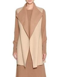 Platino light reversible cashmere vest medium 4948619
