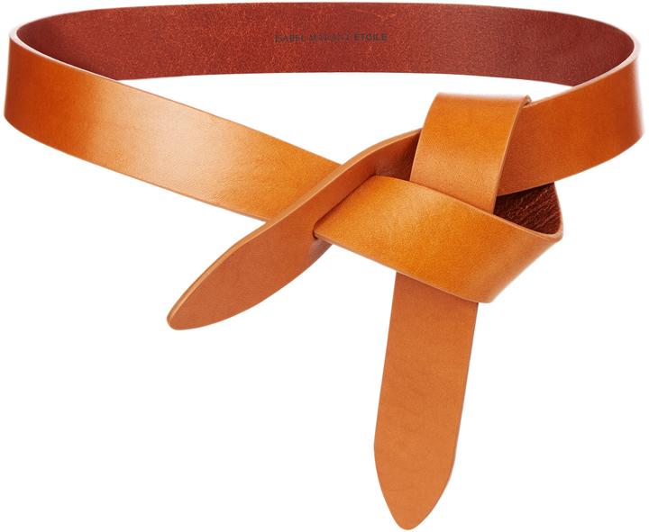 Etoile Isabel Marant Isabel Marant Toile Lecce Leather Knot Waist Belt