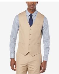 Perry Ellis Lumark Solid Slim Vest