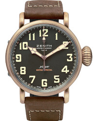 Pilot type 20 extra special 45mm bronze and nubuck watch medium 591857