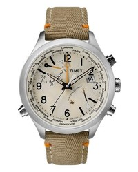 Timex Waterbury Canvas Strap Watch