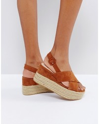 Mango Wedge Espadrille Sandals