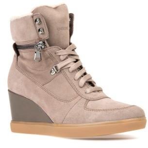 gran venta fb6fa c3542 $199, Geox Eleni Wedge Sneaker