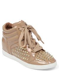 Jessica Simpson Trebble High Top Sneaker Wedges