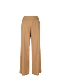 Tan wide leg pants original 4511736