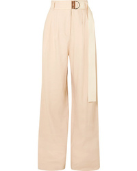 Tibi Bianca Wide Leg Pants