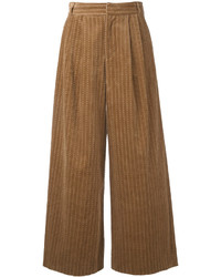 Muveil Cable Corduroy Wide Leg Trousers