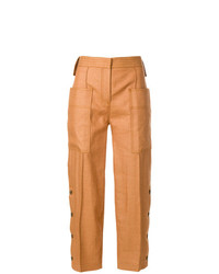 Victoria Victoria Beckham Cropped Cargo Trousers