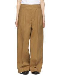 Jil Sander Tan Costanzo Trousers