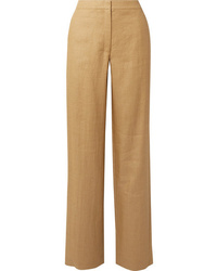 Theory Twill Wide Leg Pants