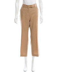 The Row Wool Wide Leg Pants