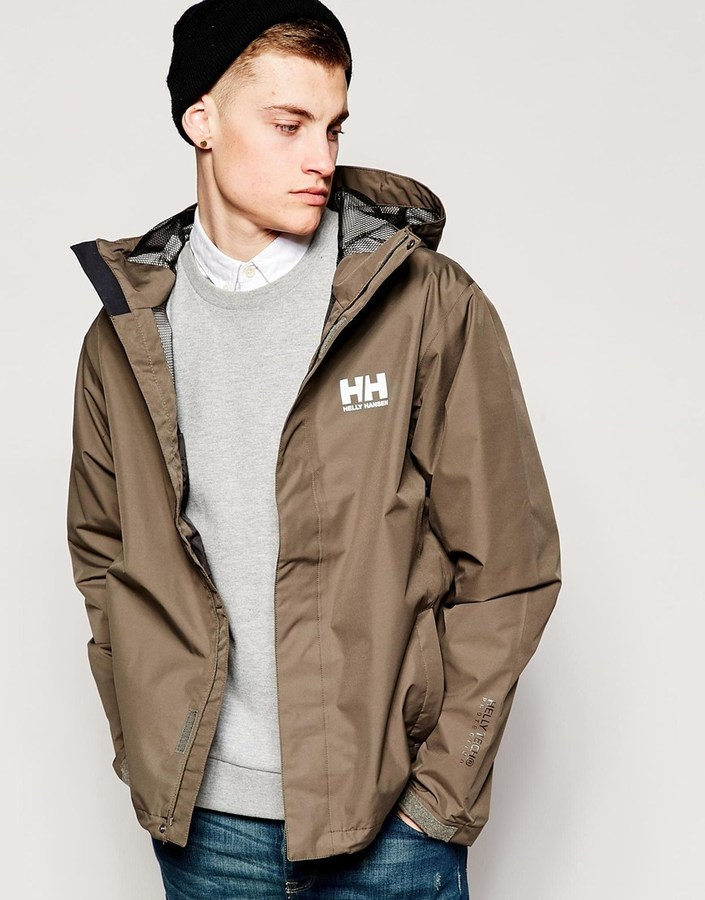 Helly Hansen Seven J Rain Jacket | Where to buy & how to wear