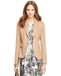 Tan Wool Blazer