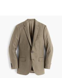 Ludlow suit jacket in heathered italian wool flannel medium 5211931