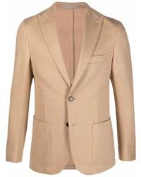 Eleventy Single Breasted Wool Blazer