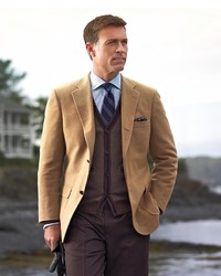 Brooks Brothers Three Button Camel Hair Sport Coat | Where to buy ...