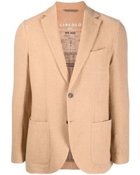 Circolo 1901 Virgin Wool Blend Single Breasted Blazer