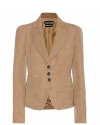 Wool and linen blazer medium 493328